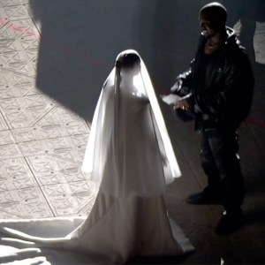 Kim Kardashian appears in wedding dress and veil for Kanye's Donda event, Kim Kardashian appears in wedding dress and veil for Kanye's Donda event, Relay Vibes
