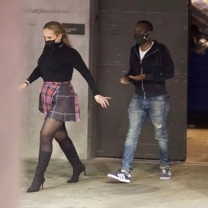 Adele pictured on a date night with boyfriend Rich Paul, Adele pictured on a date night with boyfriend Rich Paul, Relay Vibes