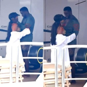 Diddy spotted with Future and Bow Wow's babymama Joie Chavis, Diddy spotted with Future and Bow Wow's babymama Joie Chavis, Relay Vibes