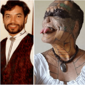 Banker who spent £61000 to become 'human dragon' now wants too cut off pen!s, Banker who spent £61000 to become 'human dragon' now wants too cut off pen!s, Relay Vibes