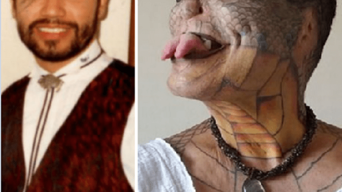 Banker who spent £61000 to become 'human dragon' now wants too cut off pen!s
