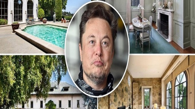Elon Musk takes his last house off the market 3 months after listing it