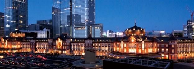 ホテルが位置する東京駅丸の内駅舎