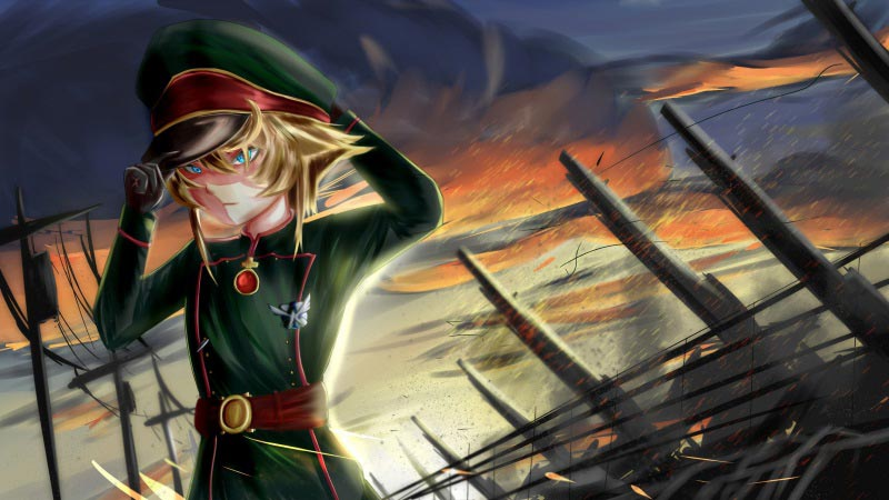 Attack On Titan Cute Wallpaper Youjo Senki Saga Of Tanya The Evil Season 2 Latest News