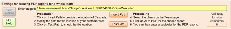 Cascade strengths reports create team PDF workshop