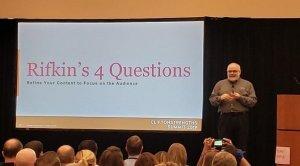 Summit breakout session Gary Rifkin