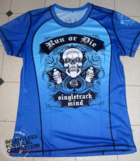 INKnBURN Run or Die shirt