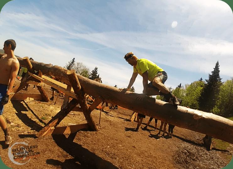 Tough Mudder Lumber Jacked