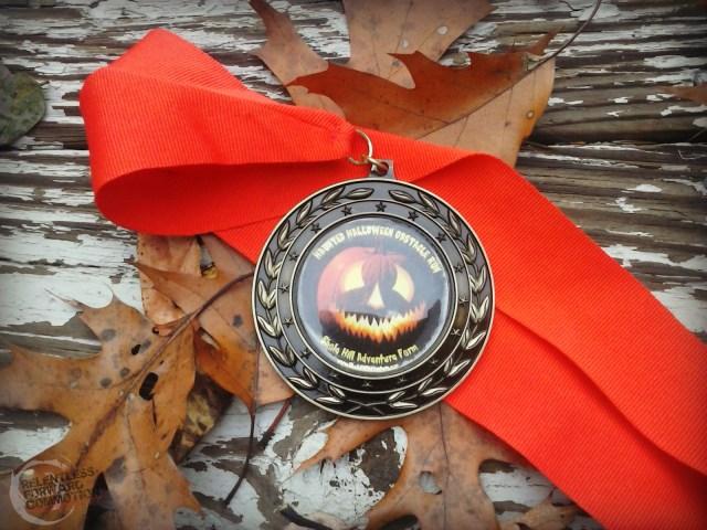 Shale Hill Halloween Medal