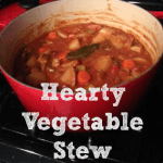 Hearty Vegetable Stew Recipe