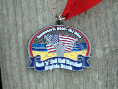 Virginia Beach Rock & Roll half marathon