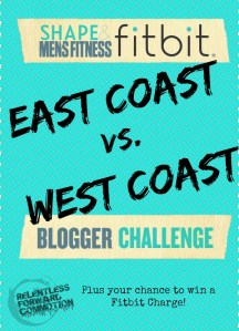 WEEK 1: Shape & Men's Fitness Fitbit Blogger Challenge