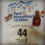 2012 Pack Monadnock 10 Miler race report