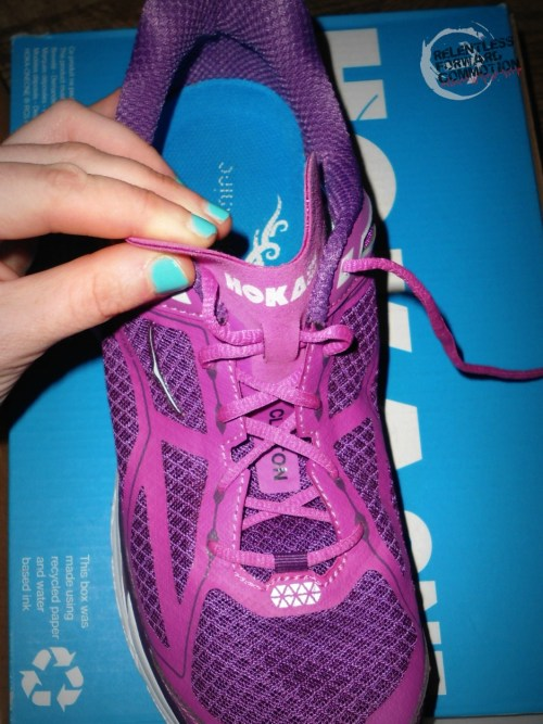 Hoka One One Clifton tongue