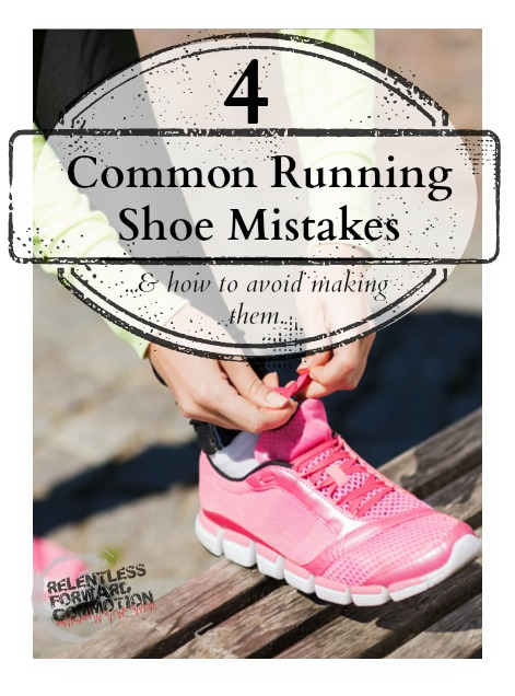 Running Shoe Mistakes