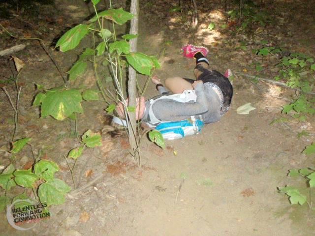 trail running fail