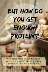 But How Do You Get Enough Protein?