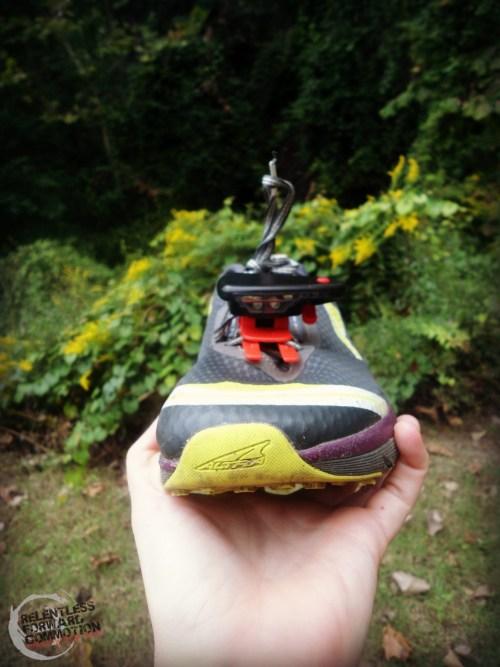 Night Runner 270 on shoe
