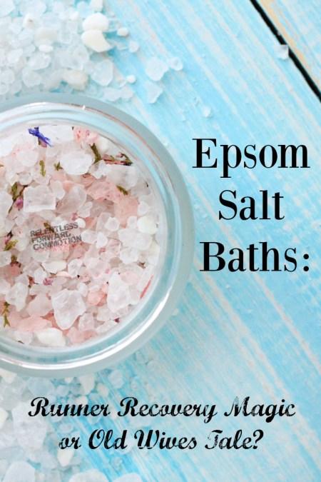 Epsom Salt Baths