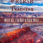 Grand Canyon R2R2R Training: Week 2