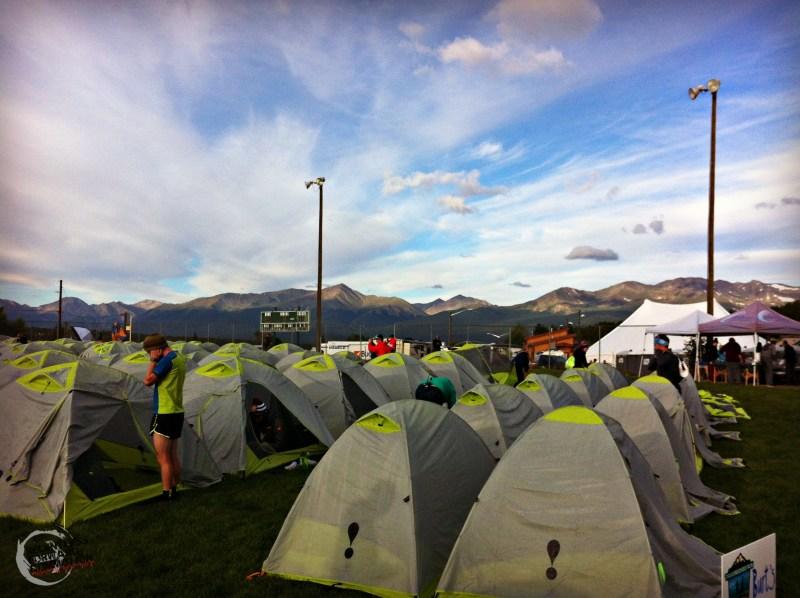 Leadville CO tents