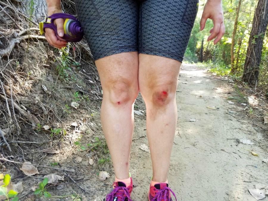 Falling on Trail