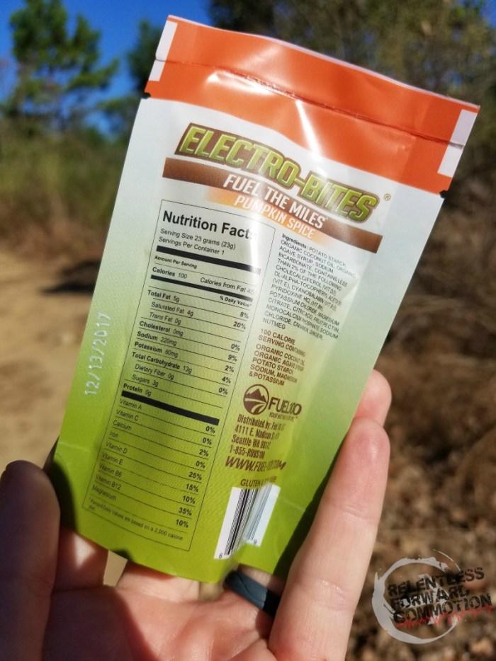 Electro Bites Ingredients