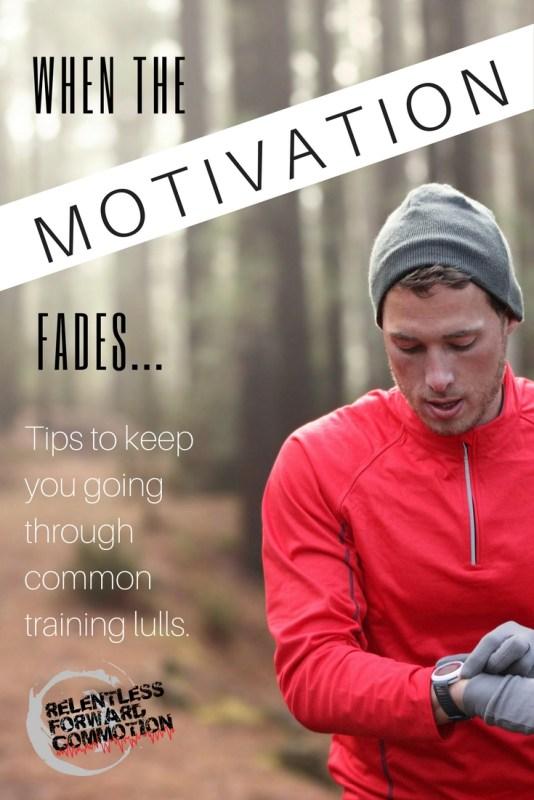 When the Running Motivation Fades