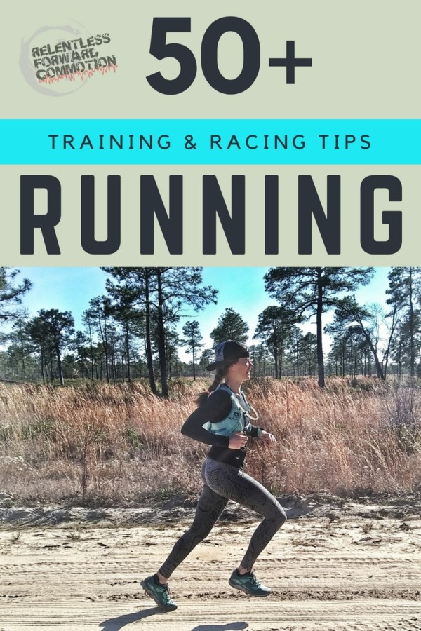 Running Training and Racing Tips