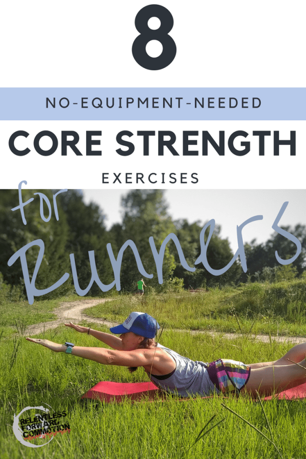 No Equipment needed core strength exercises for trail runners