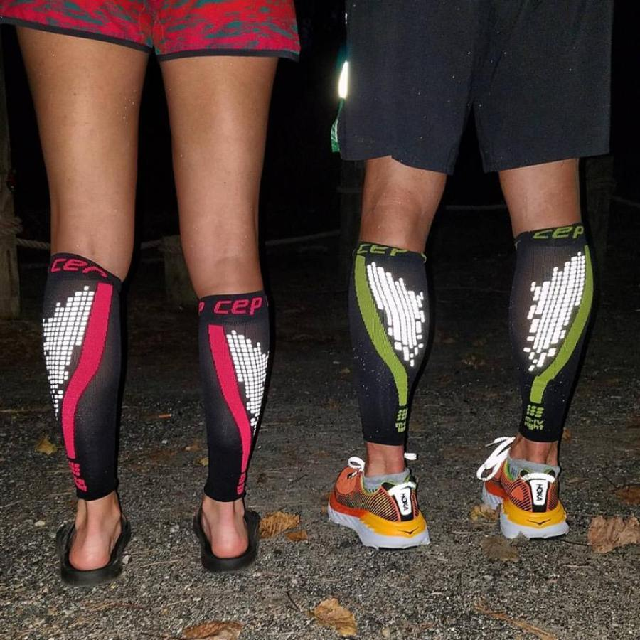 Running with compression socks