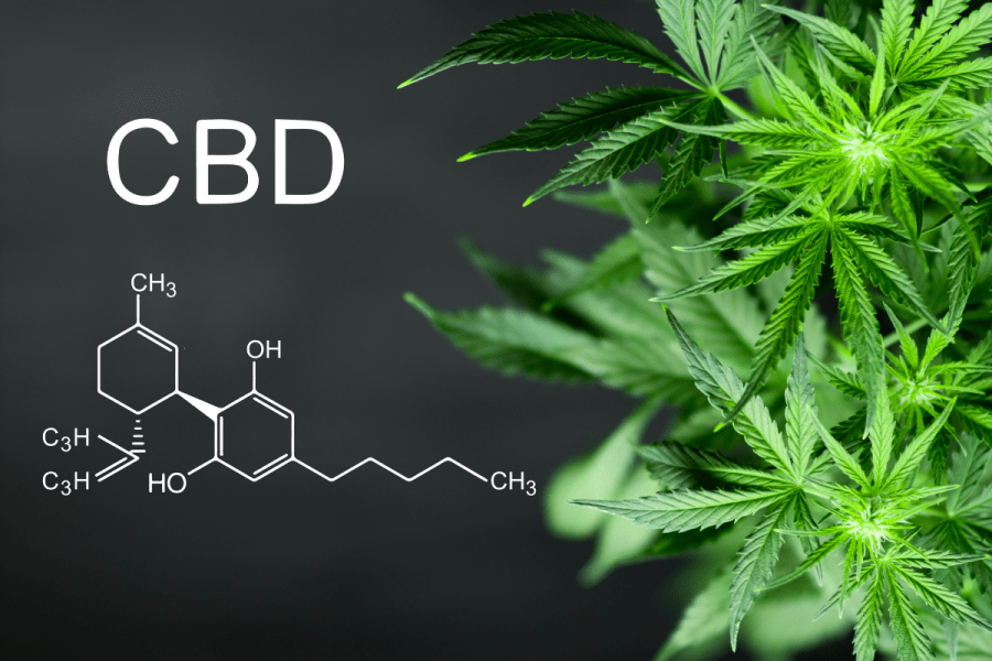 CBD oil chemical compound