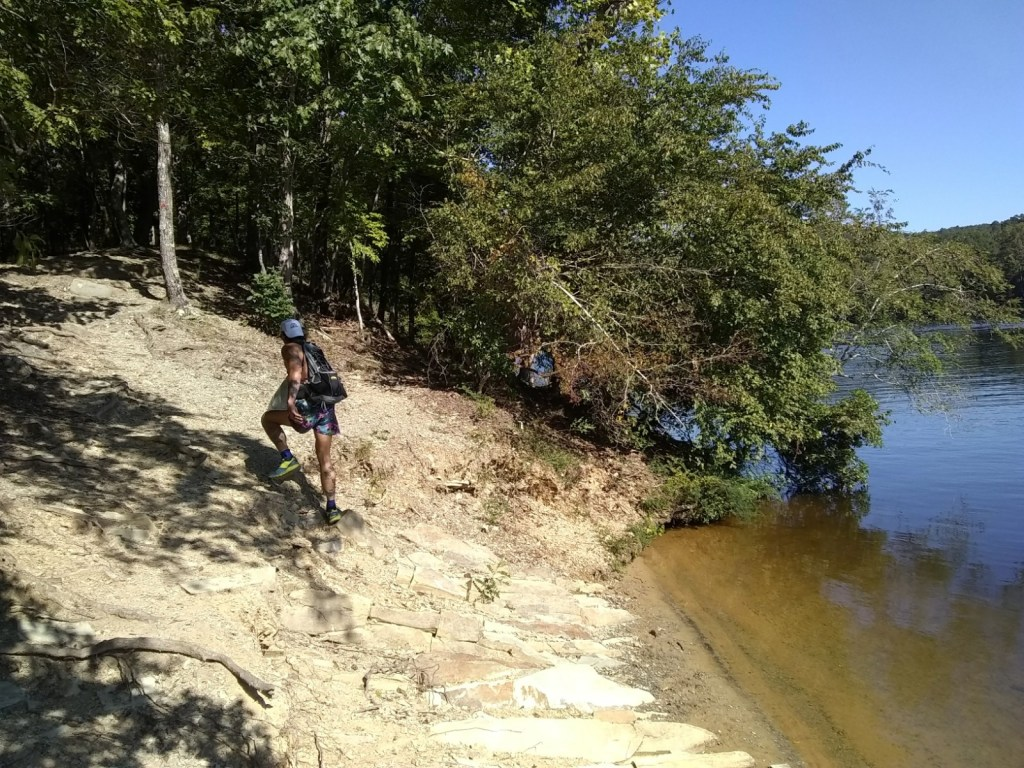 Trail Running at Morrow Mountain State Park