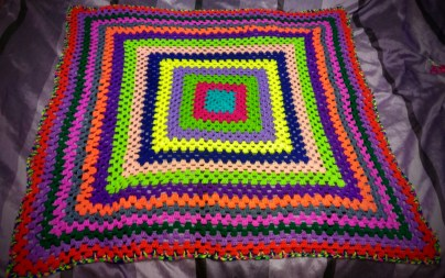 Eva's blanket - finished
