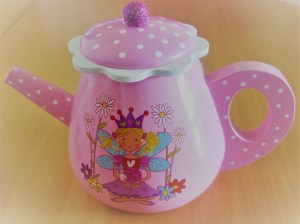 Wooden Fairytale Teapot