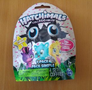 Hatchimal CollEGGtible blind bag
