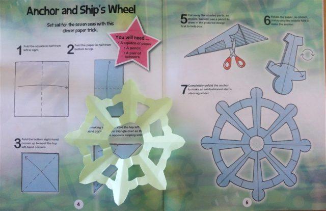 Ship's wheel origami