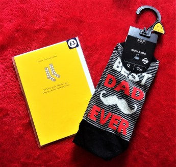 Socks & Card