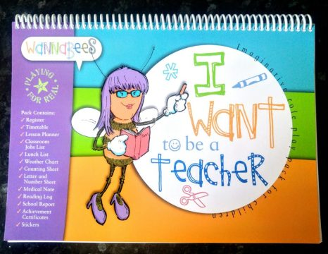 Wannabee's role play teacher pack