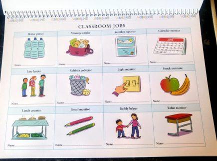 Role Play Teacher Pack - Classroom Jobs