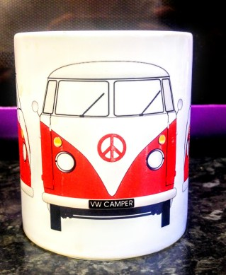 personalised campervan mug