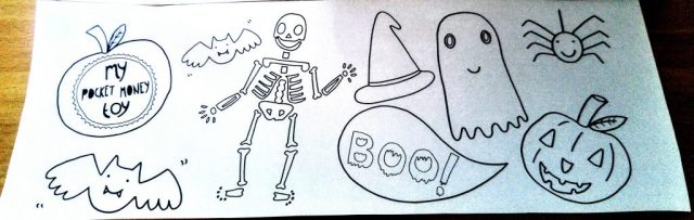Halloween Colouring Sheet