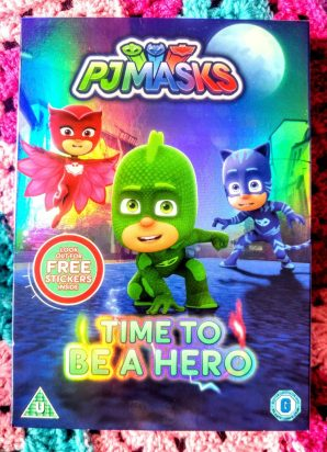 PJ Masks - Time Top Be A Hero DVD