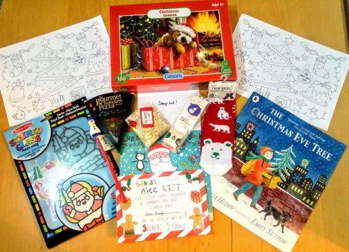 Christmas eve box from My Pocket Money Toys