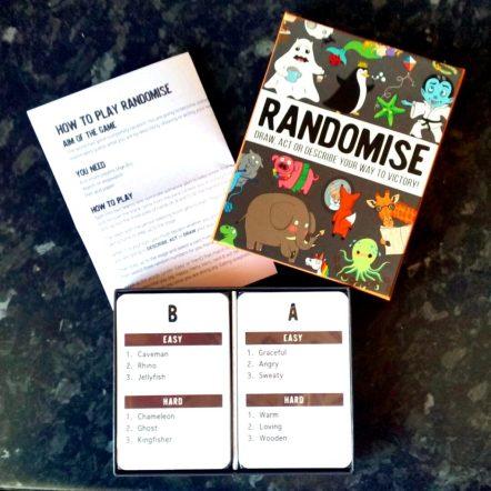 Family games for christmas - Randomise