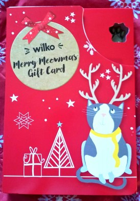 Wilko Merry Meowmas Gift Card