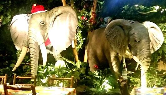 Animaltronics - Moving elephant
