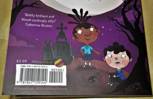 Fang-Tastic Friends Back Cover