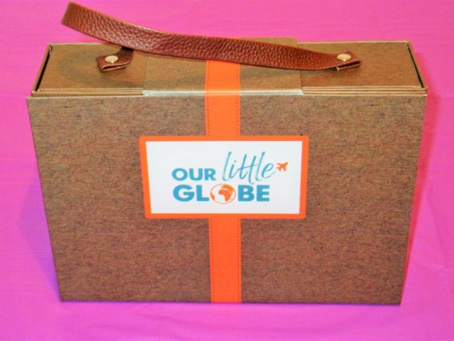 Our little globe suitcase