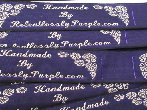 Personalised Woven Labels